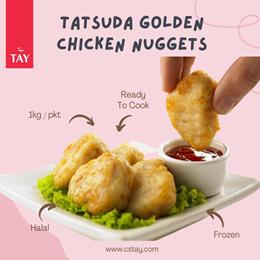 [CS TAY]Tatsuda Golden Chicken Nuggets (2 KG)