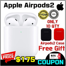 [Apple] SG Apple Warranty / Apple AirPods Gen 2 Wireless Bluetooth Earphones/ Genuine Apple