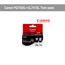 Canon Genuine Ink PG740 XL CL 741 XLBlack Color