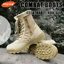 c00dbe553 Ultralight Combat Boots For Mens Special Forces Breathable Army Boots Great  for Camping   Travel