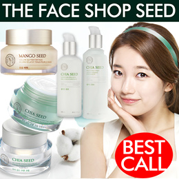[The Face Shop] ★Seed Series Best Collection★Chia seed hydrating Cream★Mango Seed Facial Cream★