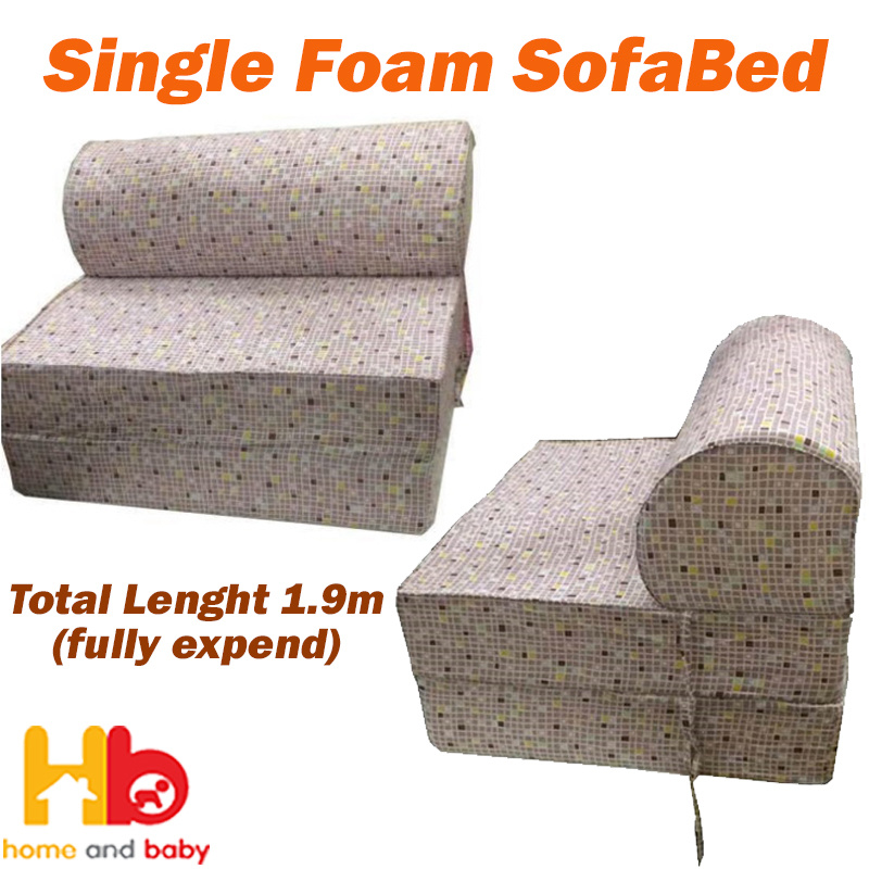 Qoo10 Single Foam Sofa Bed Furniture Deco