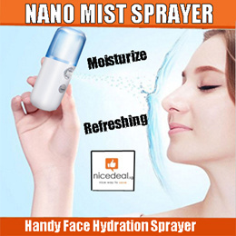 NEW Nano Mist Sprayer- USB rechargeable Handy Cool Mist Spray Machine Face Hydration Sprayer