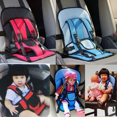 Portable Baby Kids Children Car Safety Booster Seat Cover Cushion Multi Function Chair