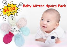 ❤️ Mittens 4 pairs set ❤️ newborn ❤️ gloves ❤️ Baby ❤️ Infant❤️  local seller ❤️