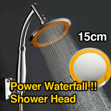 ★Waterfall Power Shower Head★Jumbo Size 15cm★Powerful High Pressure Shower★For Bath★Made in Korea