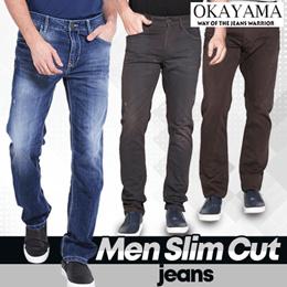 Okayama jeans - Celana Jeans Pria  Celana Panjang Denim  Okayama - OM001ABRD16 - OM002ABRD16