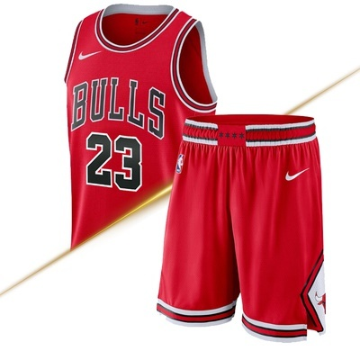 new concept 57cbf 84472 NBA basketball jersey Nike Jordan Jordan bulls 23 jersey sport basketball  training pants red suit
