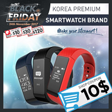 BUY $40 USE Qoo10 $10 coupon★ 24th~26th EVENT ★SMART BAND ★ KOREA PREMIUM SMART WATCH / Bracelet / fitbit / BAND /