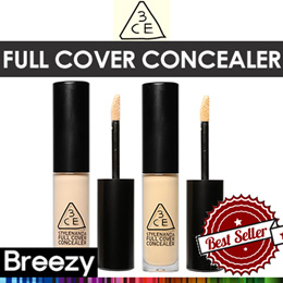 BREEZY ★ [STYLENANDA] 3CE FULL COVER CONCEALER / 5ml / 2colors