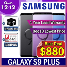 ★Mystery Box Event★ Samsung Galaxy S9 plus 6+128GB / 1 Year local Samsung warranty