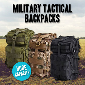 High Quality Outdoor Army Military Tactical Assault Camping Backpack Rucksack Haversack For Sport Camping Hiking Trekking
