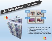 Bee 3 Fold Mattress | 2 inch | 3 inch | 4 inch