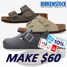 [BIRKENSTOCK] Apply $12 Qoo10 Coupon!! BEST SLIPPER COLLECTION 21 STYLES