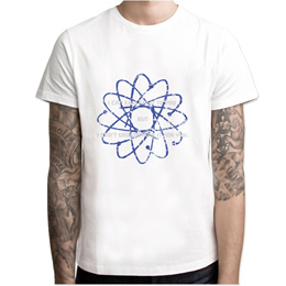 9478d47777fd9 Science Theory T shirt men t shirt fashion t-shirt O Neck white TShirts For