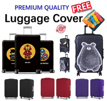 Cartoon Luggage Cover Protector / Tick and high Elastic Luggage Protector Cover / Various Design