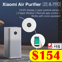 [Local Warranty] XIAOMI Air Purifier Gen 3 // 2S // Pro | OLED Display