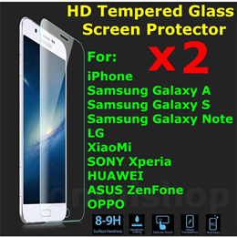 *BUY 1 GET 1 FREE* iPhone PLUS iPad mini Pro Air Samsung Galaxy Note Tab tempered glass screen protector privacy Redmi G SONY Xperia ASUS Zenfone HUAWEI LG OPPO S A 2 3 4 5 6 7 8 6S 5S