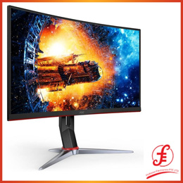 AOC C24G2 165Hz FHD Curved FreeSync VA Gaming Monitor With Height Adjust 24 23.6 (C24G2 24)