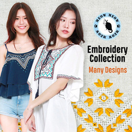 LOOSEFIT TOPS/ CARDIGAN/ cotton tops/Embroidery tops /chiffon/ plus size/ Bohemian Style/Tunic