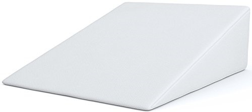 Bed Wedge FitPlus Premium Wedge Pillow 1.5 Inches Memory Foam 2 Year...