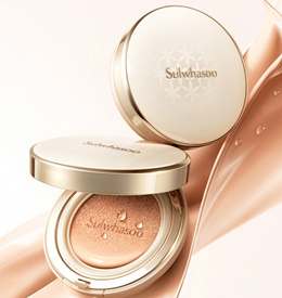 ★Sulwhasoo 2017 New★Perfecting Cushion EX 15g*2 2017 new/SPF50+PA+++/Whitening/anti-aging