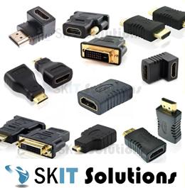 Micro / Mini HDMI Male to HDMI Female Adapter Angle Extender★HDMI to DVI (24+1) / (24+5) Converter★