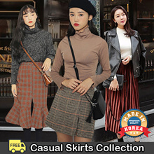 [2017 F ​​/ W New Item] Casual Skirts Collection /Pleats Skirt/Shipping from Korea