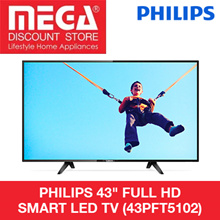 PHILIPS 43PFT5102 FULL HD SMART LED TV / LOCAL WARRANTY