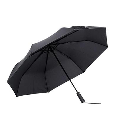 小米(MI)雨傘自動折疊傘晴雨傘男女通用遮陽傘防曬傘小黑傘自動超輕折疊雨傘小米自動折疊傘
