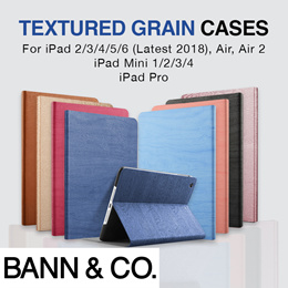 ★ Textured iPad Cases/Covers for iPad 2/3/4/5/6 Air 1/2/3 (New 2019) Mini 1/2/3/4/5 Pro 10.5/11/12.9