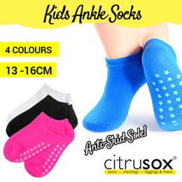[Citrusox] Kids Non-Skid Sole Ankle Socks