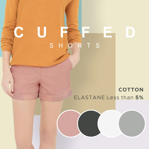 TURUN HARGA! Women Short Pants Deals for only Rp99.000 instead of Rp99.000