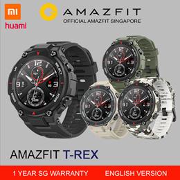 [Official Amazfit Singapore] AMAZFIT T-REX Military Grade Sports Smart Watch  English TREX