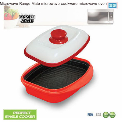 Qoo10 Microwave Range Mate Cookware Oven Orange Red Colo Kitchen Dining
