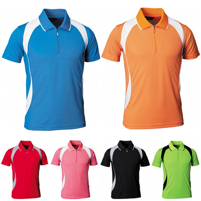 7e5a2aafe7 Mens Womens Fast dry Dryfit Coolmax Coolon Polo Collar Tennis Sports Tshirts  Jersey Top TM008