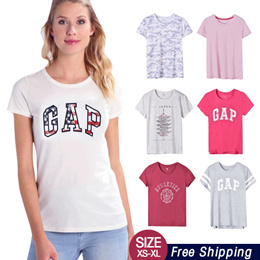 d2cfc9a801b09e Free Shipping NEW UPDATE 08Mar Women Short Sleeve Tee Shirts Printed T-shirt XS-XL Women  Fashion