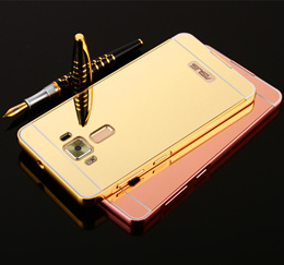 ... ASUS ZenFone Selfie. Source · COUPON · Metal Aluminum Bumper+Acrylic 2 in 1 Mirror Plating Capa Case On For