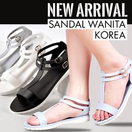 3 PILIHAN SANDAL WANITA KOREA //SANDAL KOREA//SANDAL WANITA//CASUAL SANDAL // JELLY SANDALS