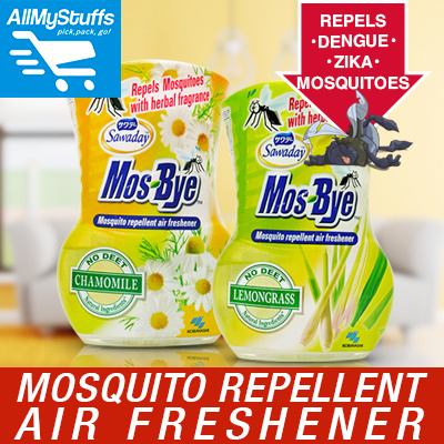 Qoo10 - 【Sawaday】Mos-Bye Mosquito Repellent Air Freshener○ ANTI-MOSQUITO ○  pre... : Household & Bedd...