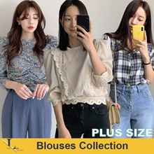 13rd Jun Update New Arrivals♥ Casual Tops / Shirts / Blouses / Tops / Korean Style / Plus Size