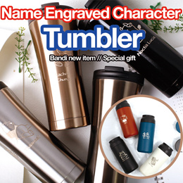 Name Engraved character bottle Tumbler /Best Personalised Gift