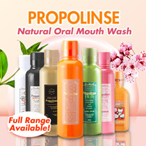 [ALL FLAVOURS AVAILABLE] Propolinse Natural Oral Mouth Wash **Japan Best Seller**
