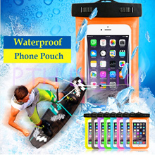 Phone Camera Proof D Water Bag Dry Sealed Case Cover For 6 Inch Cell Phone iphone 4 4S 5 5S 6 6S Beyond