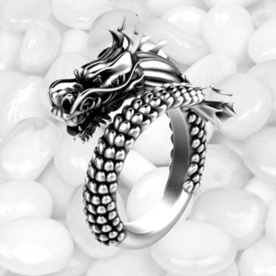 Qoo10 - ★ BIG! SALE ★ Antique dragon rings (women or men both) adjustable size : Watch & Jewelry
