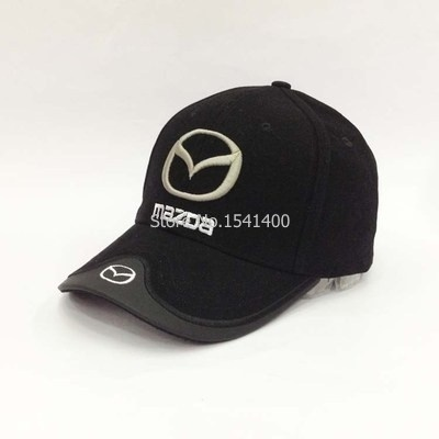 New arrived Mazda hat F1 race hat baseball cap red black beige blue colure e074a938e16
