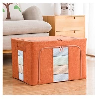 Dust Free 66L Storage Box Linen Orange (Ver2)