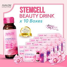 AVALON STEMCELL BEAUTY COLLAGEN DRINK - SEE THE CHANGE IN 7 DAYS | 6 MONTHS SUPPLY