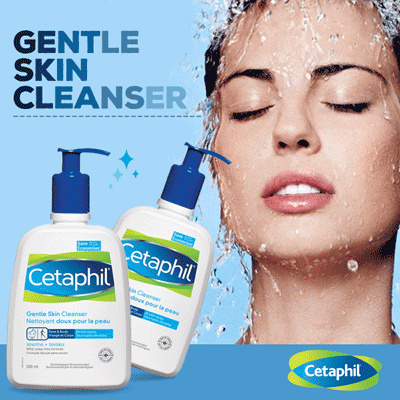 Cetaphil Gentle Skin Cleanser 500mL Deals for only Rp214.500 instead of Rp214.500