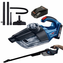 BOSCH GAS 18V-1 Rechargeable Cordless Vacuum Cleaner (Battery+Charger sold seperately)